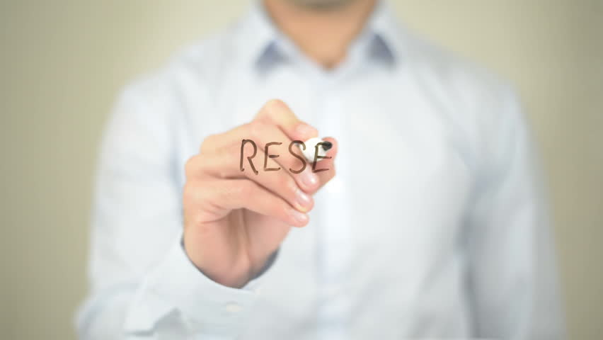 Reset, Man Writing on Transparent Screen | Shutterstock HD Video #16391959