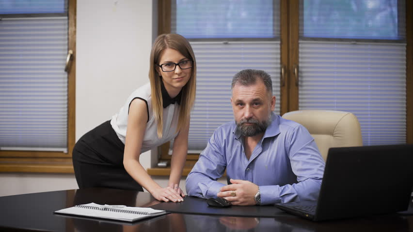 Sexy Assistant And Her Boss The Scene In The Office -4065