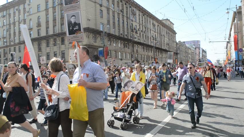 Αποτέλεσμα εικόνας για parade in Moscow 'immortals'