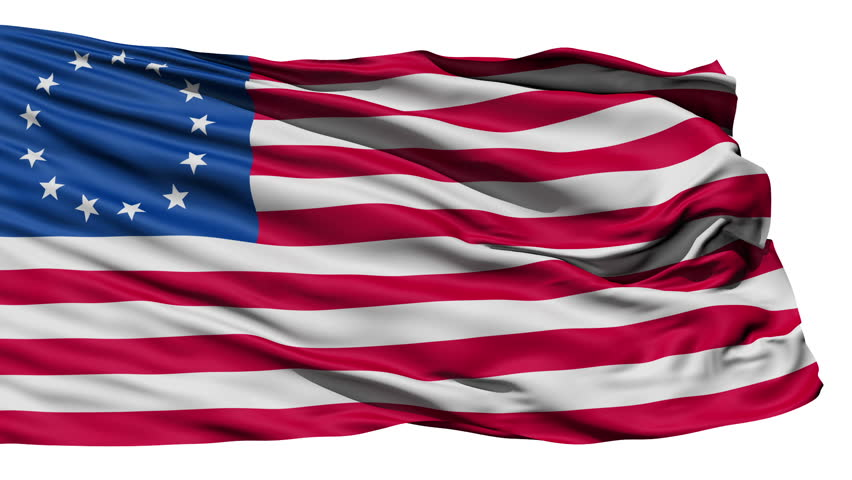 United States Betsy Ross Flag Stock Footage Video 100 Royalty