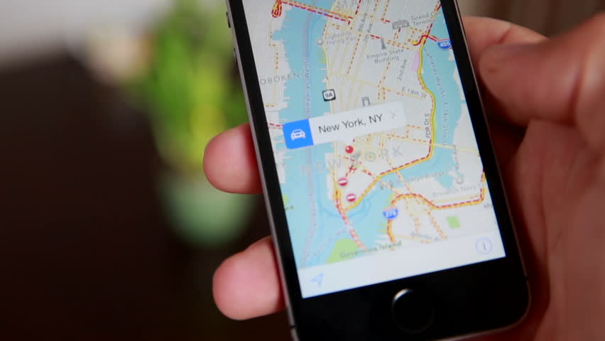 Close-Up Of Hands Using Google Maps In Smart Phone. Man Holds Phone In Hands And Uses Gps | Shutterstock Video #16770841