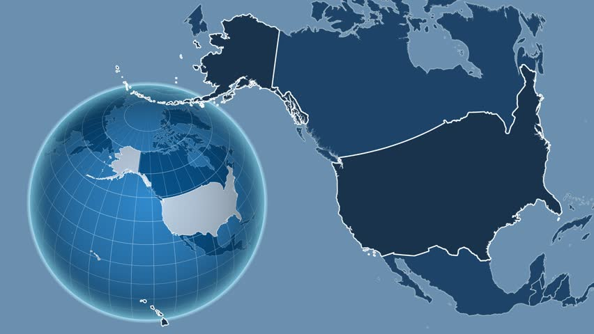 United States with Alaska Shape Stock Footage Video (100% Royalty-free) on topographic map of alaska, airports of alaska, aerial view of alaska, radar weather map alaska, industrial map of alaska, landsat map of alaska, satellite maps of japan, village of alaska, sports map of alaska, full map of alaska, large map alaska, storms gulf of alaska, water map of alaska, military map of alaska, hd map of alaska, seismic map of alaska, road map of alaska, driving map of alaska, satellite view of nome alaska, us detailed maps of alaska,