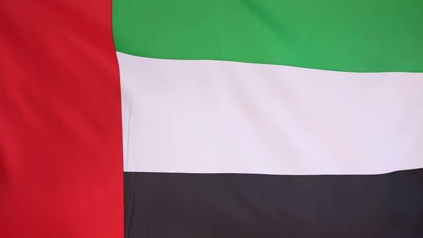 Flag of United Arab Emirates in slow motion | Shutterstock HD Video #16878259