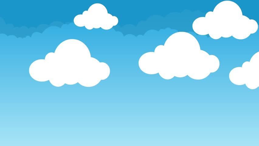 animated cartoon clouds free motion graphics backgrounds download