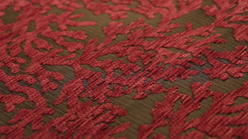 Fine Textiles Angled Close Up Dolly Shot 6