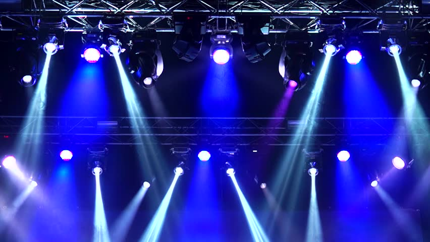 Green Light Effects Stock Footage Video: Stage Lighting Effects Rays Stock Footage Video (100
