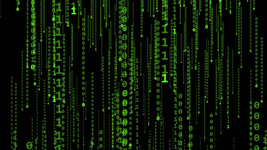 Matrix on a black background | Shutterstock HD Video #17107939