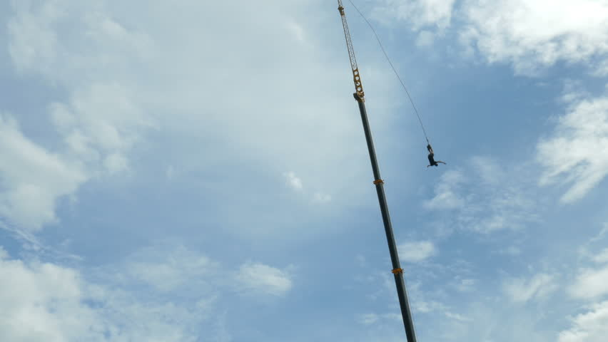 f08f225b53df Bungee Jumping. Stock Footage Video (100% Royalty-free ...