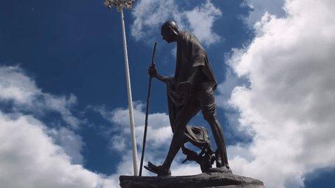 Mahatma Gandhi Statue at Chennai Marina Beach