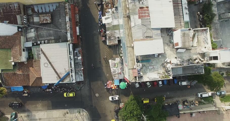 San Salvador El Salvador May A Satellite Or Gods - Satellite image photo of el salvador