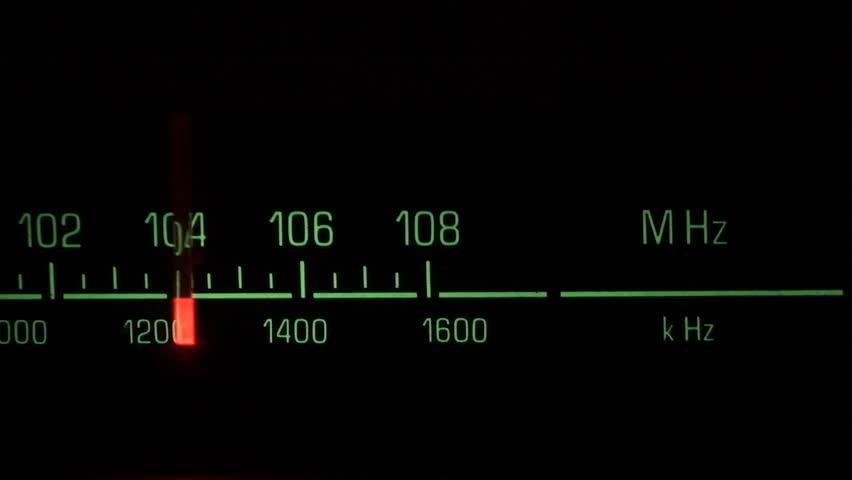 Classic radio receiver fm tune dial panel | Shutterstock HD Video #173959