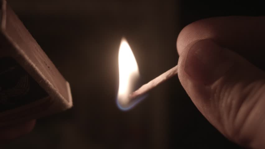 match lit in the night - HD stock footage clip & Lighting A Match In The Darkness Stock Footage Video 2988919 ... azcodes.com