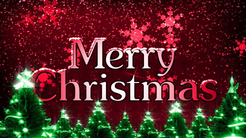 Merry Christmas Images Hd.Merry Christmas With Snow Hd Stock Footage Video 100 Royalty Free 1761479 Shutterstock