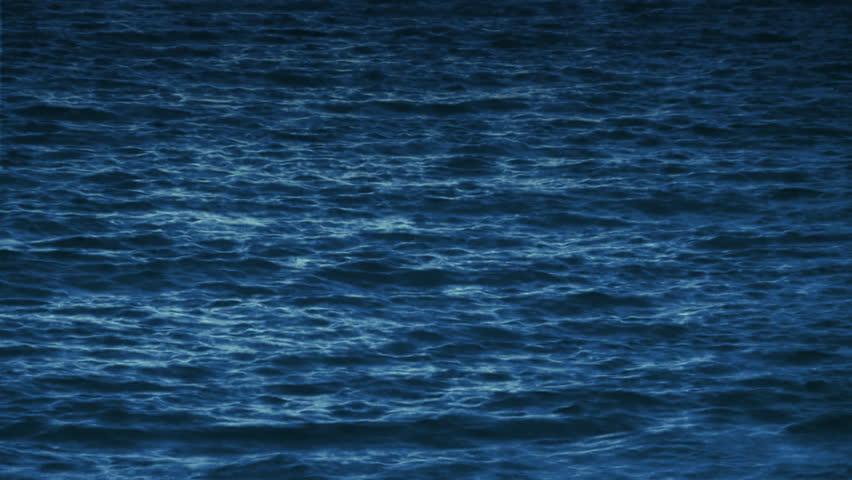 Ocean Water Surface and Underwater Loop