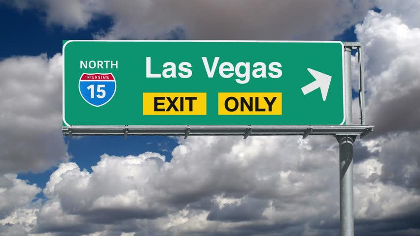 Las Vegas 94 >> Las Vegas Nevada Interstate 15 Stock Footage Video 100 Royalty