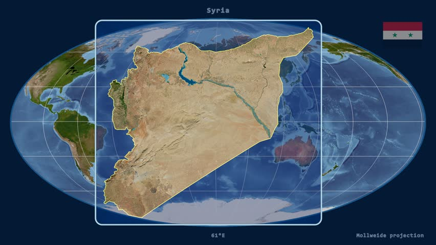 Zoomedin View Of A Saudi Arabia Outline With Perspective Lines - Hd satellite map