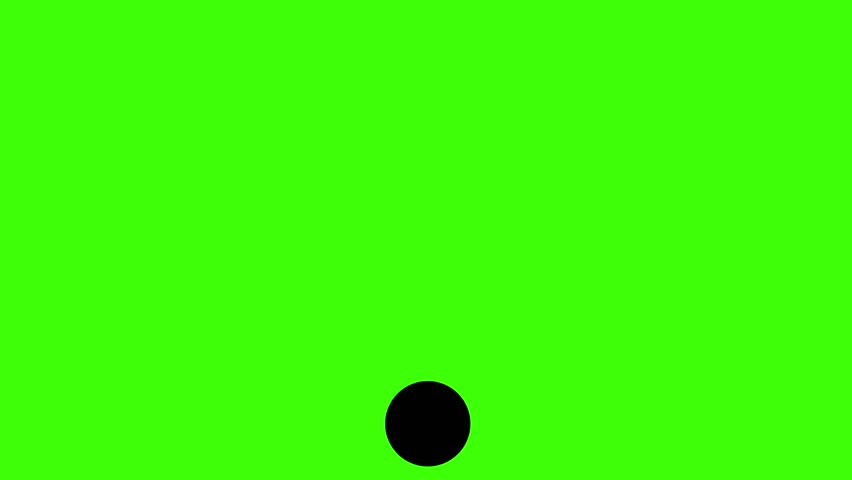 WiFi symbol graphic resource keyable green screen looping animation black