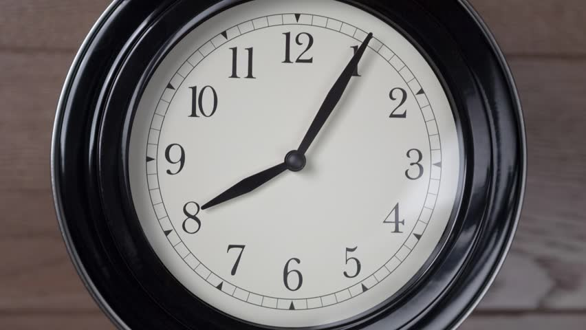 Clock timelapse. Close-up of clock moving fast | Shutterstock HD Video #17793412