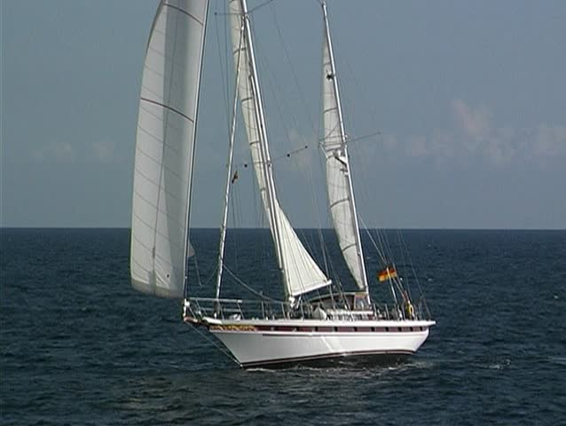 Yacht at sea 19