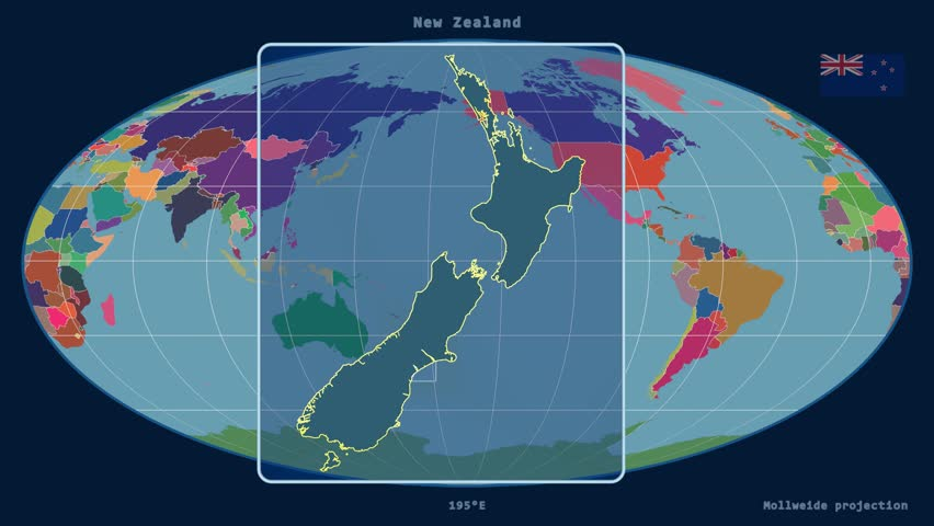 Zoomed in view of a new zealand outline with perspective lines zoomed in view of a new zealand outline with perspective lines against a global admin gumiabroncs Image collections