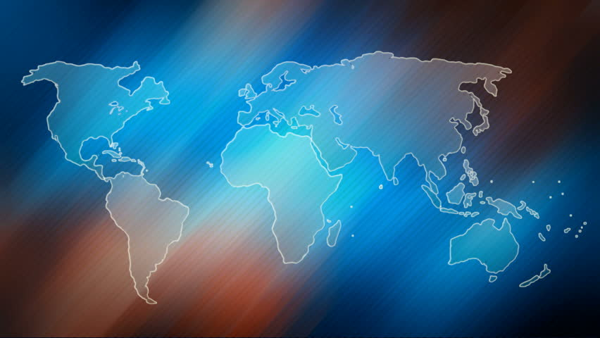 World map design animated world map at colourfull background abstract world map with continents without countries cities and symbols earth sign icon world map full hd video footage stock footage video 17965009 gumiabroncs Gallery