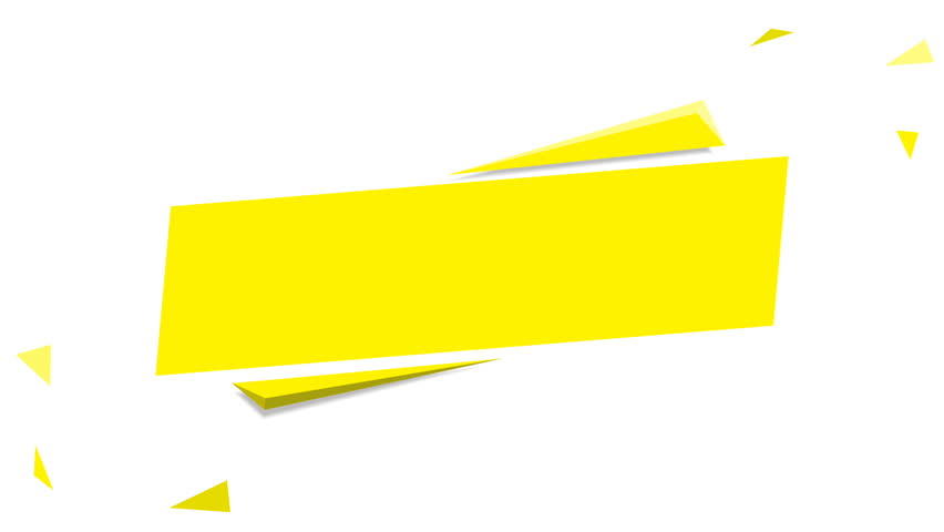 yellow confetti grand opening banner beautiful banner set 02 vector