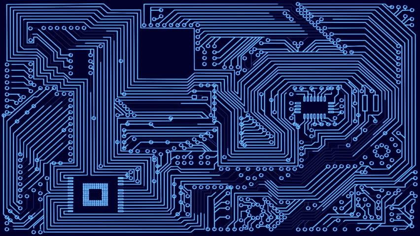 electric impulse electric scheme circuit good for techno intro  titles  logo screensaver