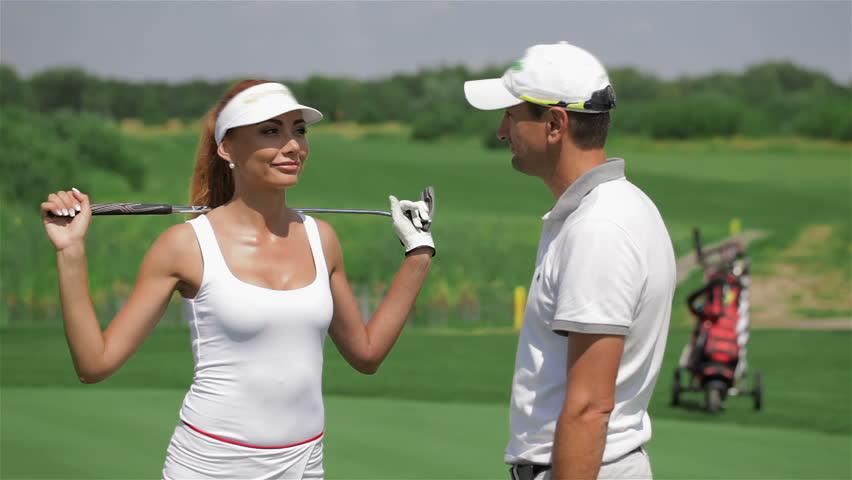 flirting moves that work golf cart video clips