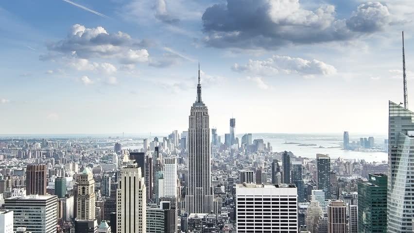 New York Circa June Stock Footage Video 100 Royalty Free
