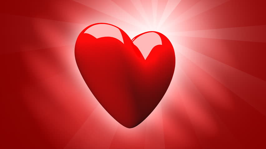3D Animated Valentine 3d Heart HD   Seamless Loop Stock Footage Video 18119  | Shutterstock