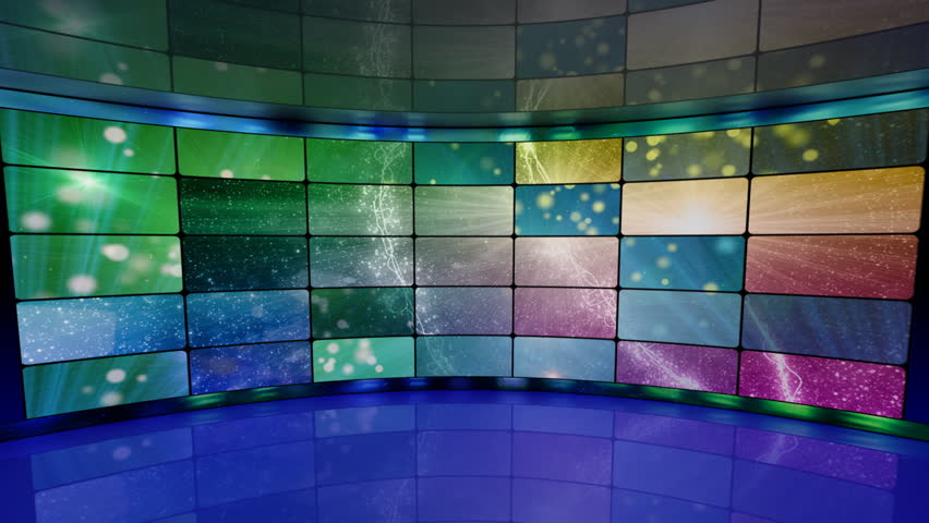 Sparkles On Screens In Virtual Stock Footage Video 100 Royalty