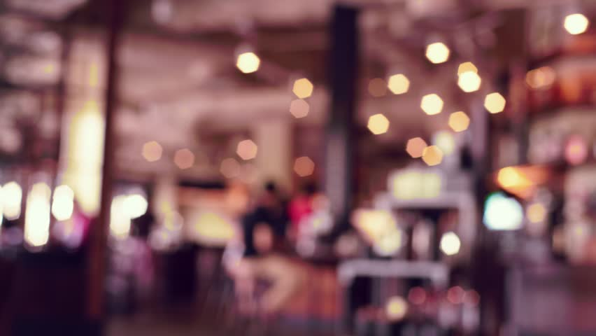 Blur image or defocus of customer in coffee shop, time-lapse movie clip with cinema or vintage effect | Shutterstock HD Video #18302809