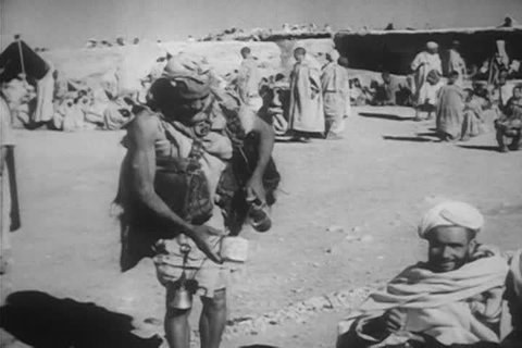 The Arab world, it\xEAs impoverished conditions, sharecroppers, ghetto like towns, and their desire to change, to improve the quality of their life in 1963. (1960s)