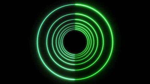 Neon Lights Vj Loop Tunnel