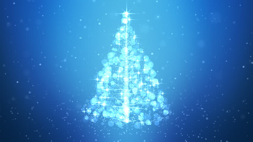 Loopable Animated Christmas Tree Background.   Shutterstock HD Video #18566189