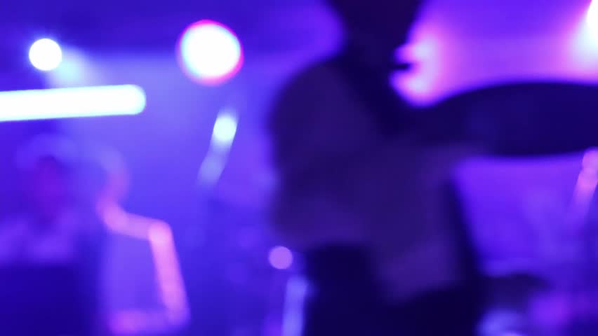 Disco music band singing on stage during a performance 13  | Shutterstock HD Video #18613439
