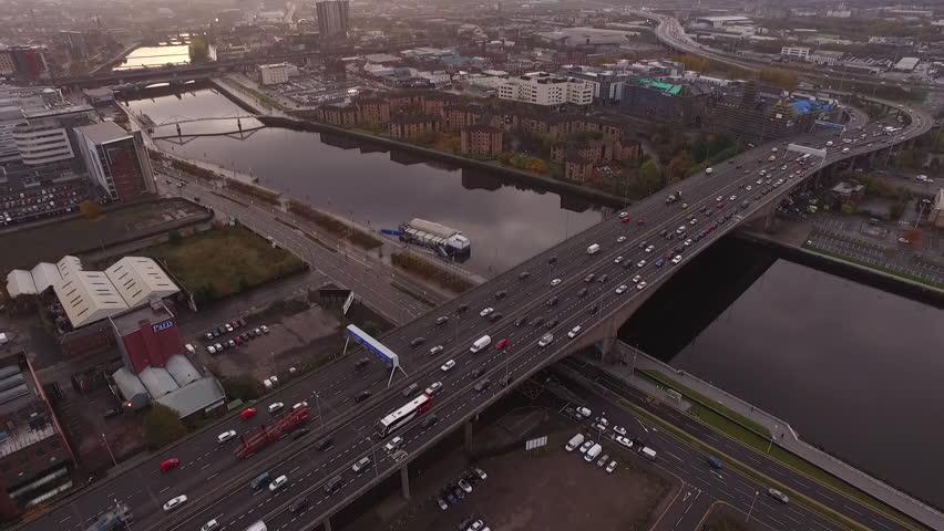 Kingston Bridge, Glasgow