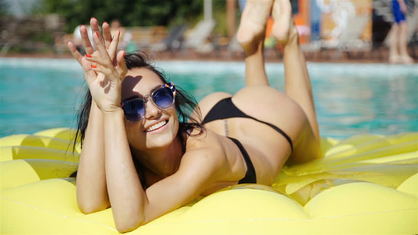 Thanks for bikini tanning woman with you