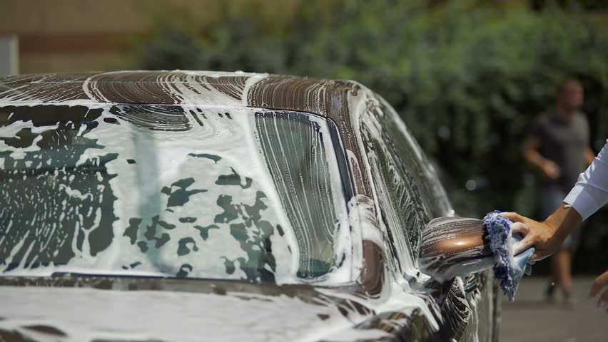 Luxury Car Wash Service, Person Stock Footage Video (100% Royalty-free)  18645989 | Shutterstock