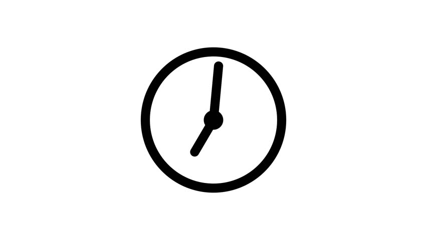 Stopwatch animated icon. Clock with moving arrows. Time run. Cartoon flat animation of UI element available in 4K FullHD and HD video 2D render footage on white | Shutterstock HD Video #18691289