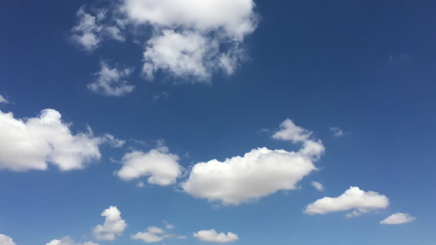 Blue sky cloud environment