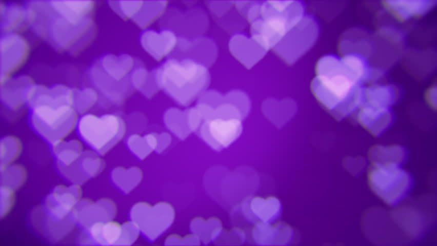Love Hearts Loopable Abstract Backgroundshining Stock Footage