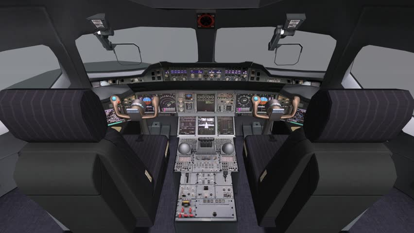 Aircraft Cockpit,high-tech Dashboard,pilots Operating Plane  Stock Footage  Video (100% Royalty-free) 18721919   Shutterstock