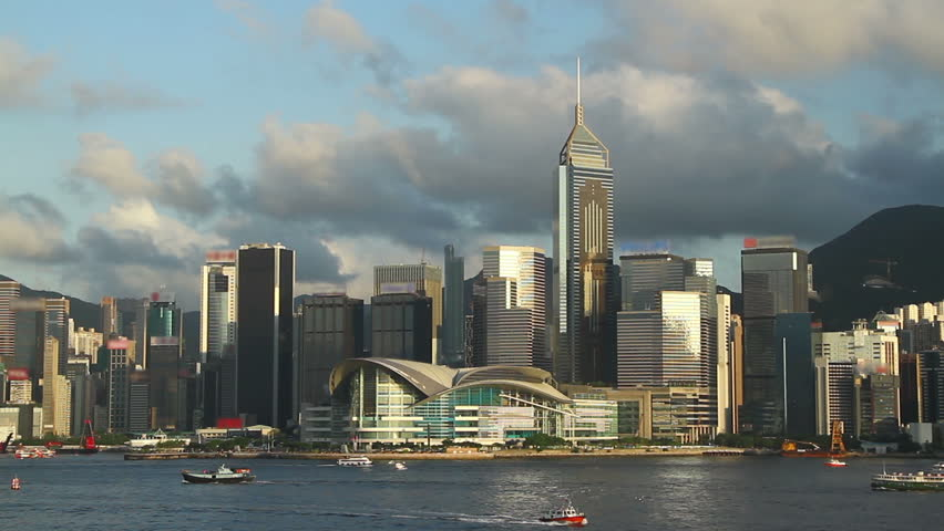 Hong Kong City skyline | Shutterstock HD Video #18722849