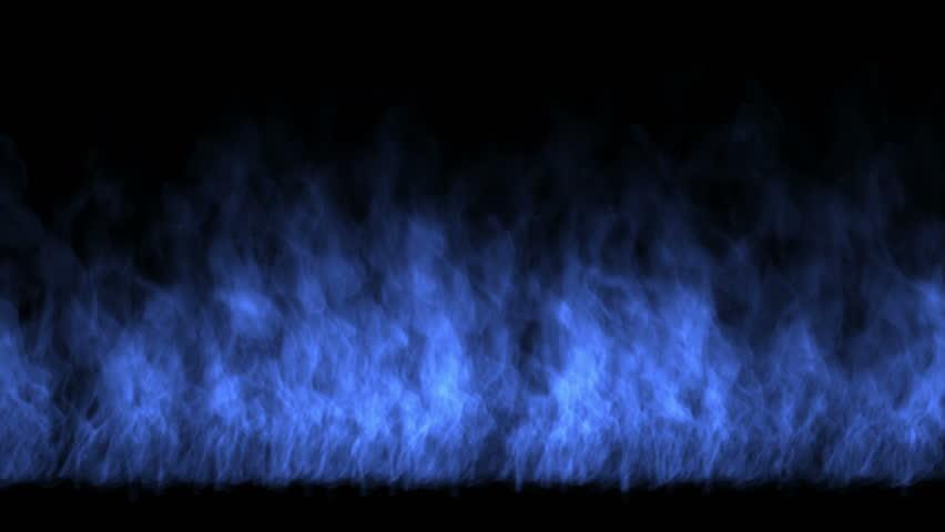4k Blue fire,flame burning gas light backdrop,energy heat hot passion background. 5378_4k