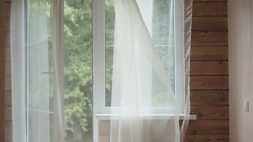 Image result for sheer curtains blowing in the breeze