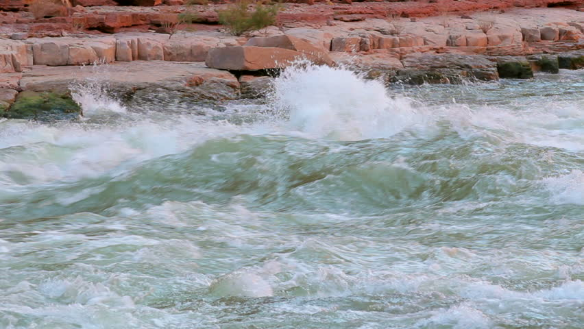 River Rapids on Colorado River in Grand Canyon