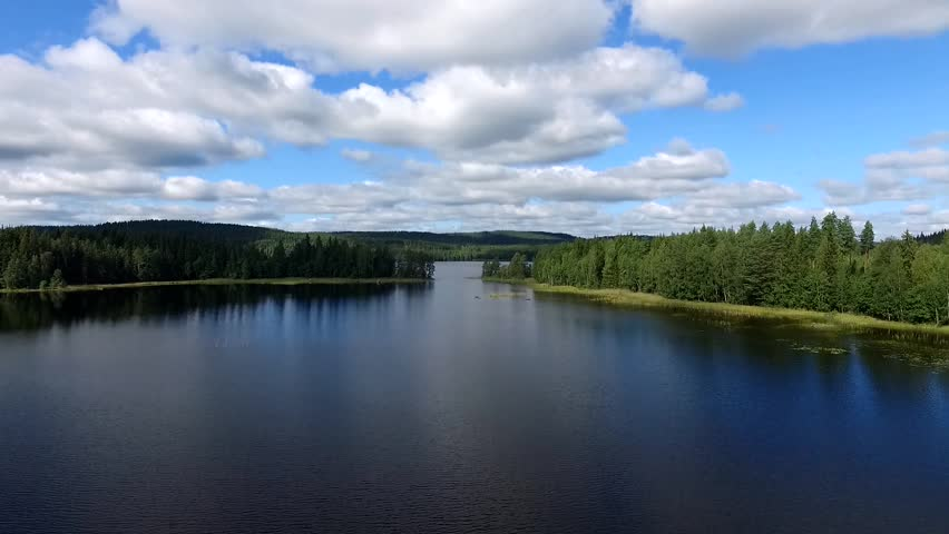 Sweden in Summer - Landscape, lakes and forest