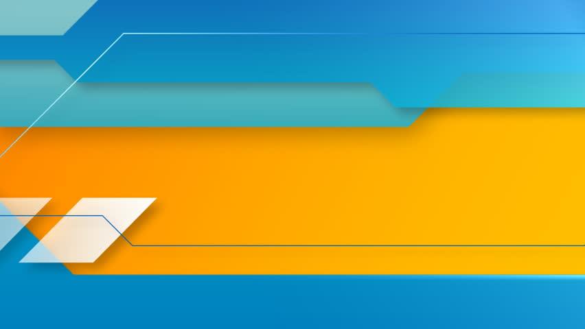 10c080c623e A Futuristic Abstract Orange and Video de stock (totalmente libre de  regalías) 1938319