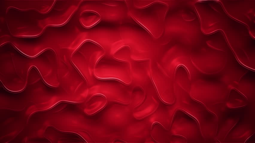 Abstract background with animation of ripples in organic surface. Animation of seamless loop. | Shutterstock HD Video #19425949